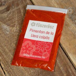 PRIMENTON DE LA VERA csípős, füstölt paprika