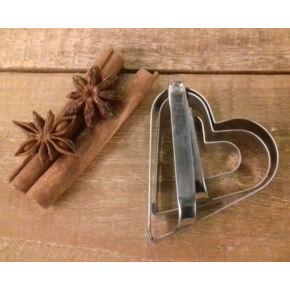 Süteménykiszúró 3db szív formájú